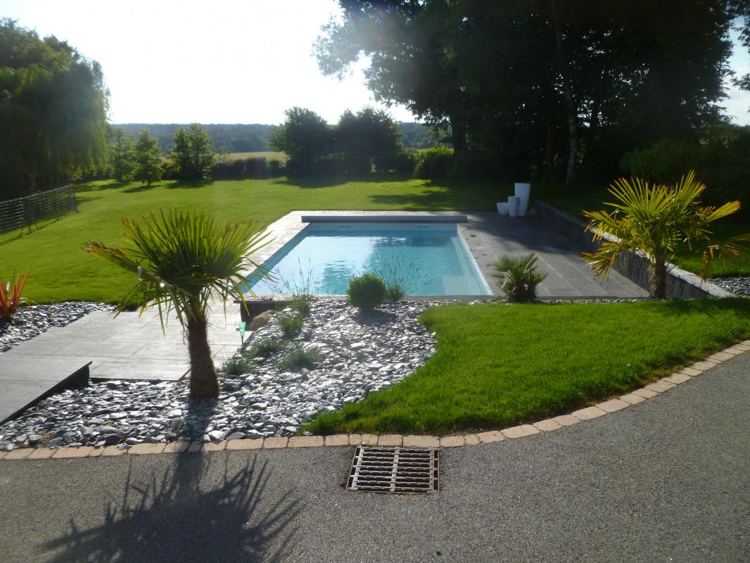 Creation D Un Jardin Avec Terrasse Et Piscine Vannes 3d Paysage
