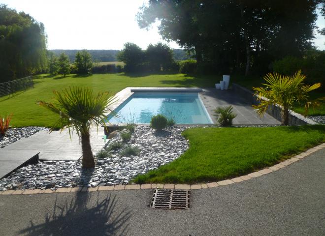 R alisations de jardins vannes morbihan 3d paysage for Amenagement jardin vannes