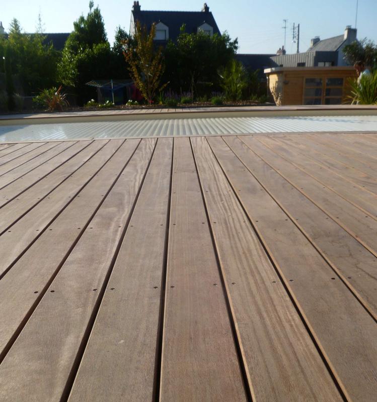 am nagement d 39 un jardin avec terrasse en bois vannes 3d paysage. Black Bedroom Furniture Sets. Home Design Ideas